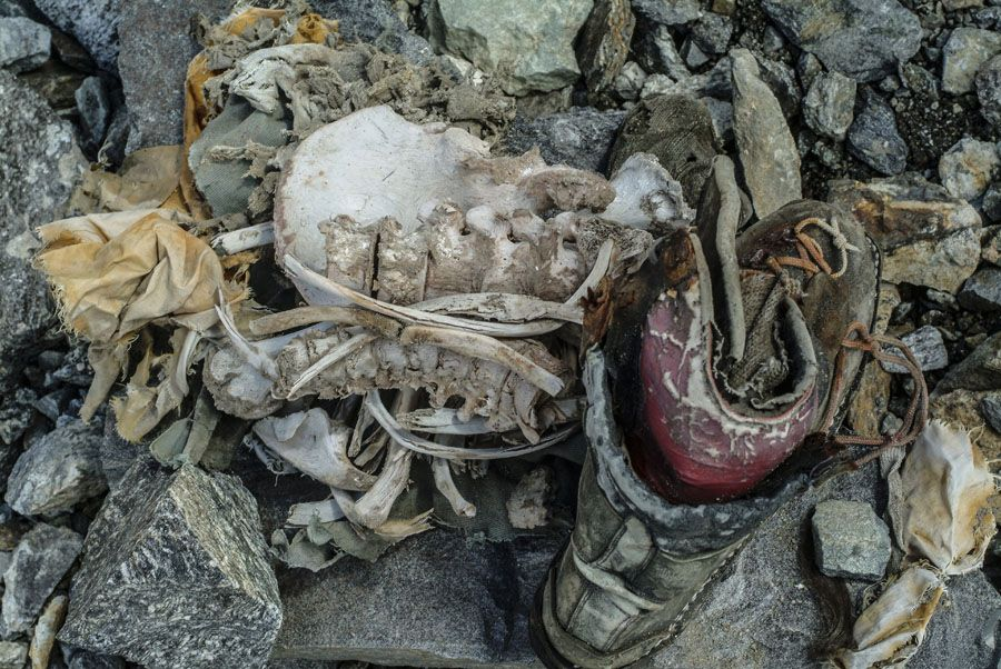 �it180s my brother� reinhold messner found the remains of