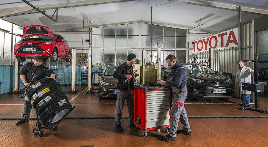 Toyota Werkstatt
