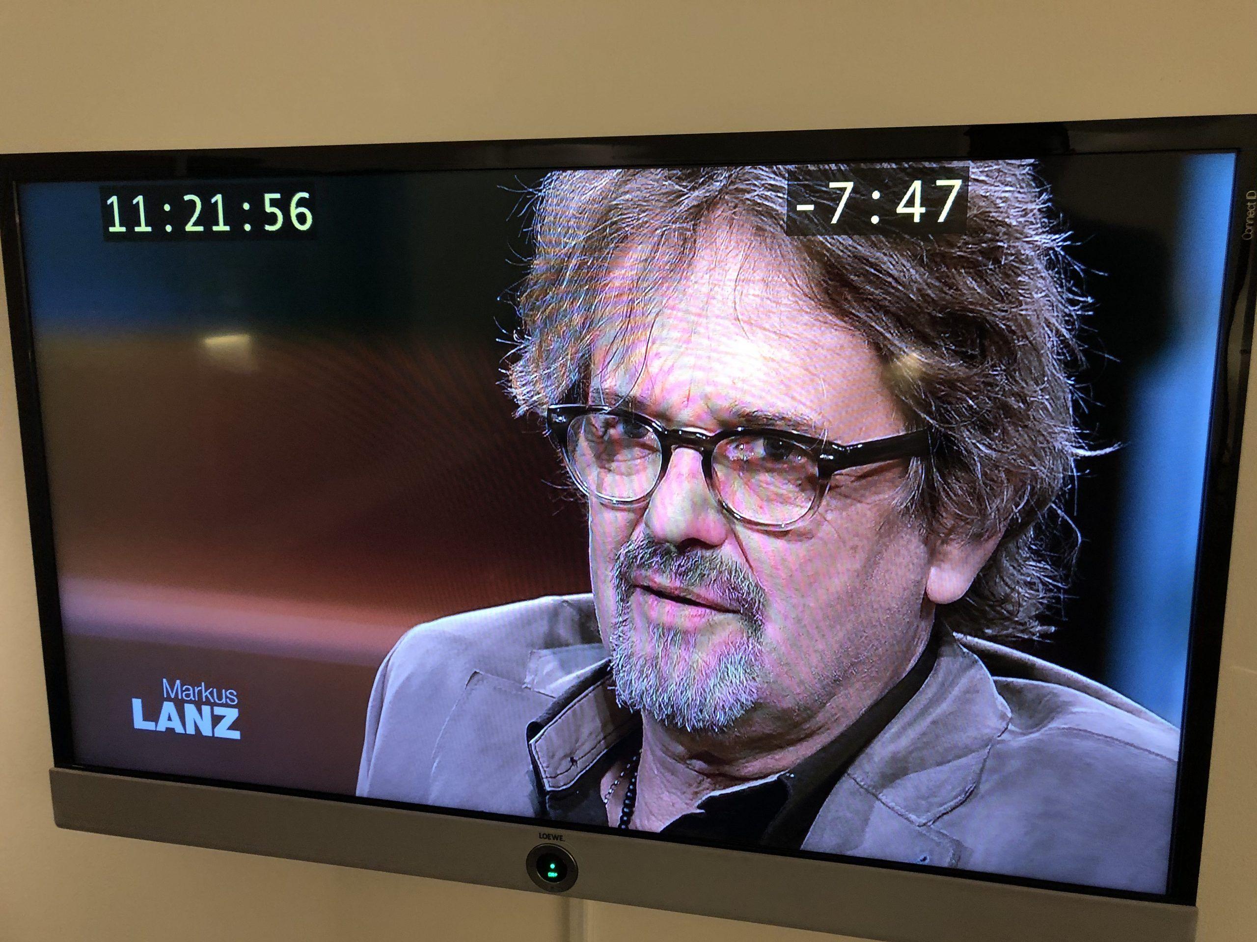 """Stefan Nimmesgern in ZDF Talkshow """"Lanz"""""""